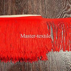 Танцевальная бахрома 15 см (красный)