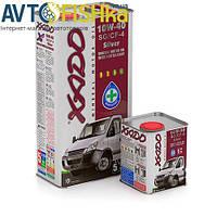 Моторне масло XADO Atomic Oil Silver 10W-40 SG/CF-4 5л мінеральне з ревитализанта
