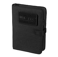 Блокнот 13,5x20,5см MilTec Black 15984002, фото 1