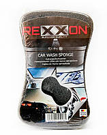 Губка для авто Rexxon 2 в 1 с жесткой пенополиуретановой поверхностью