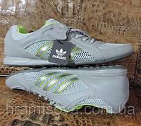 Кроссовки мужские летние Adidas (Адидас). Натуральная кожа + сетка. Модель Adidas Originals Daroga