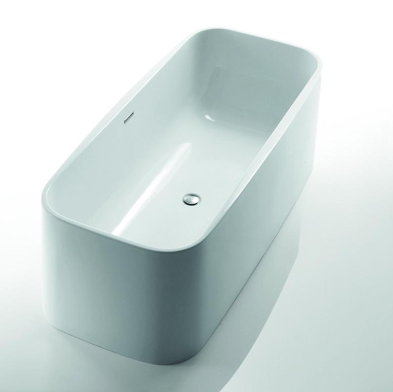Ванна акриловая Devit Optima 17176130 отдельностоящая, 1712х760х580 мм
