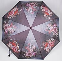 Зонт женский автомат цветы Susino, фото 1