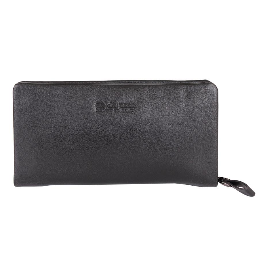 Черная барсетка-портмоне