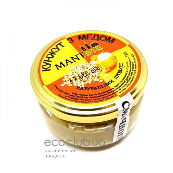 Урбеч из кунжута с мёдом Manteca 100г