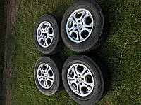 Титанові диски з шинами 215/70 R15 5x112