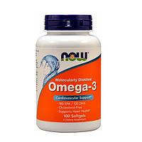 Витамины омега 3 NowOmega-3 1000mg (100 капсул.)