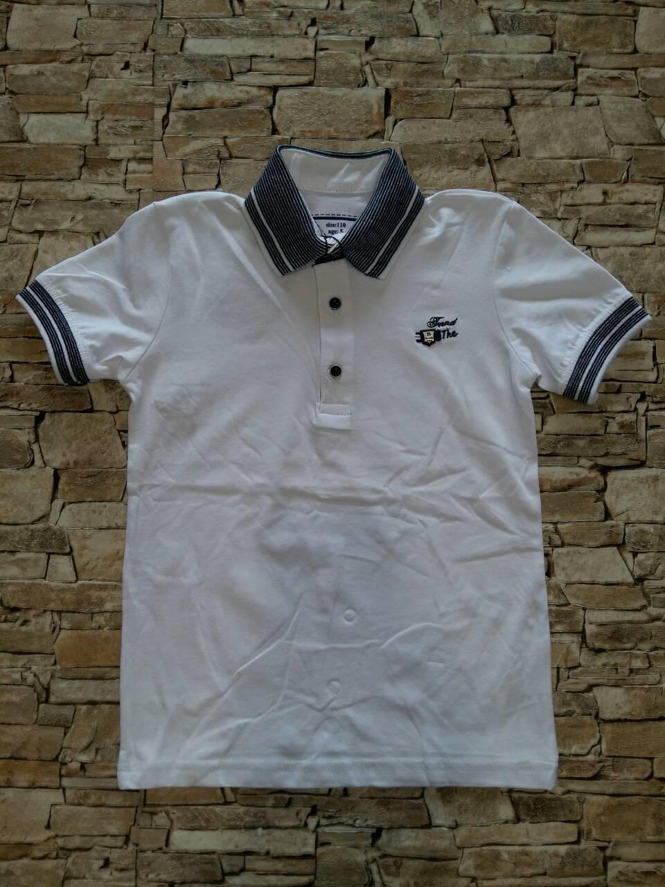 Поло футболка для мальчика 5-8 лет - В ОДЕЖДЕ - интернет магазин детской  одежды 3632756b57085