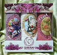 Кухонные полотенца махровые Swan 3шт