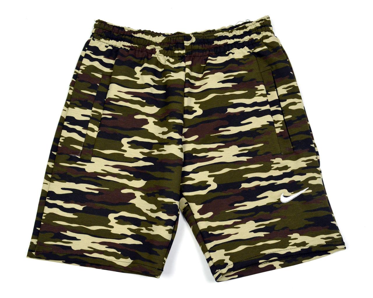 Мужские шорты NIKE камуфляжного цвета