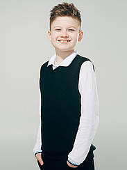 Жилет для мальчика ТМ смил, арт. 116351, возраст  7, 10 лет