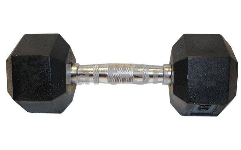 Гантель шестигранная гексагональная (1шт) вес 5 кг