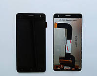 Стекло сенсорного экрана Fly FS504 Cirrus 2/ Nomi i504 Dream черный оригинал PRC