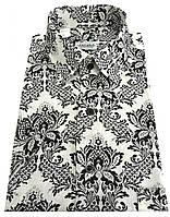 Мужская рубашка классическая с коротким рукавом № 10-3 -  D 4622/3, фото 1