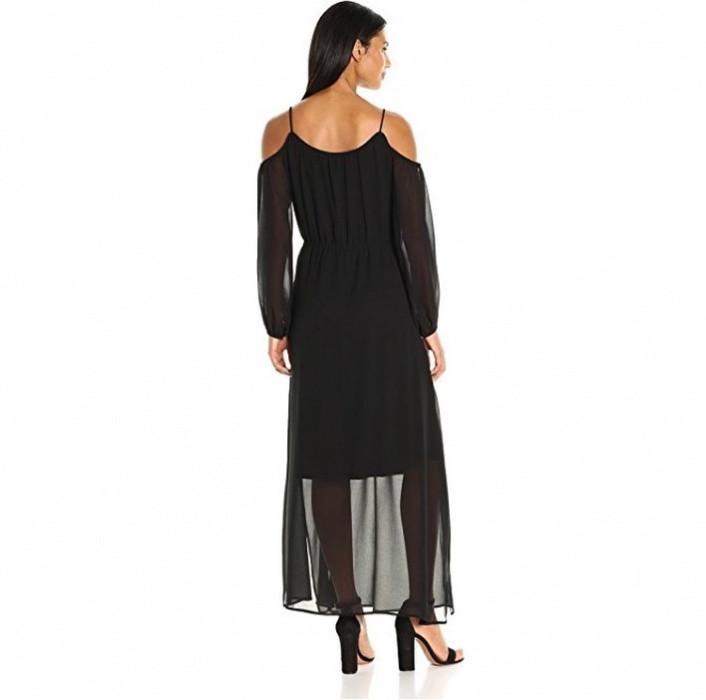 59997ddc0de Черное макси платье от Calvin Klein  продажа