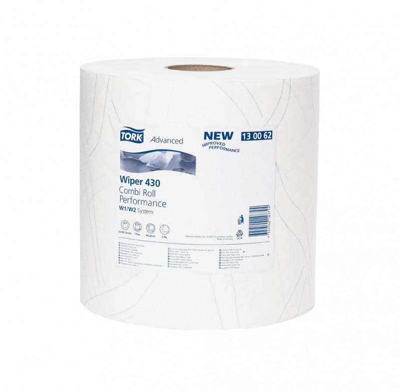 Бумага Tork 130062, белая,рулон 500 отрывов