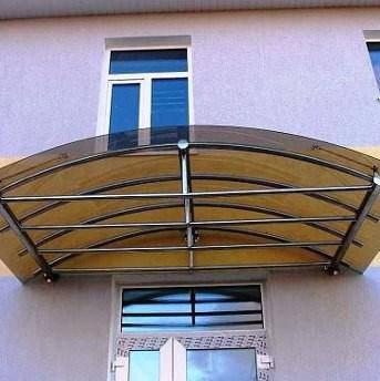 Монолитный поликарбонат Soton бронзовый 6мм, фото 2