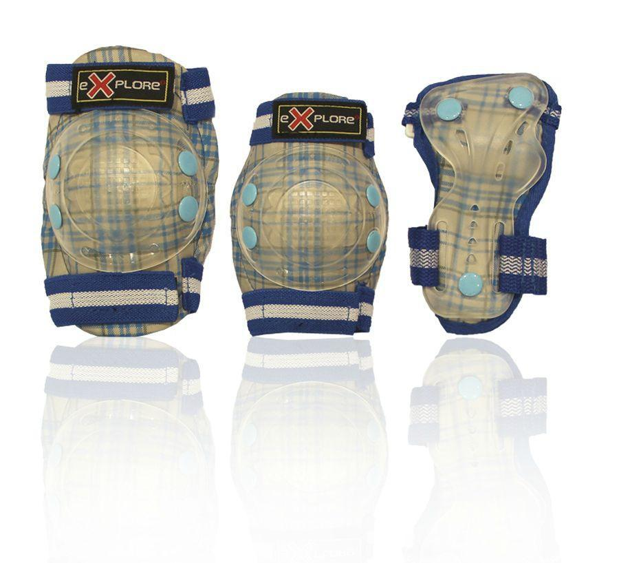 Защита детская для роллеров COOPER-BOY (голубая)