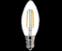 Светодиодная лампa Ledex  filament С37-4W-E14-380lm- 4000K-(LX-102083)