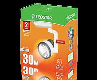 Светодиодный светильник  трековый Ledstar, 30W, 6000K, AC170-265V, 6000K, белый LS-101338