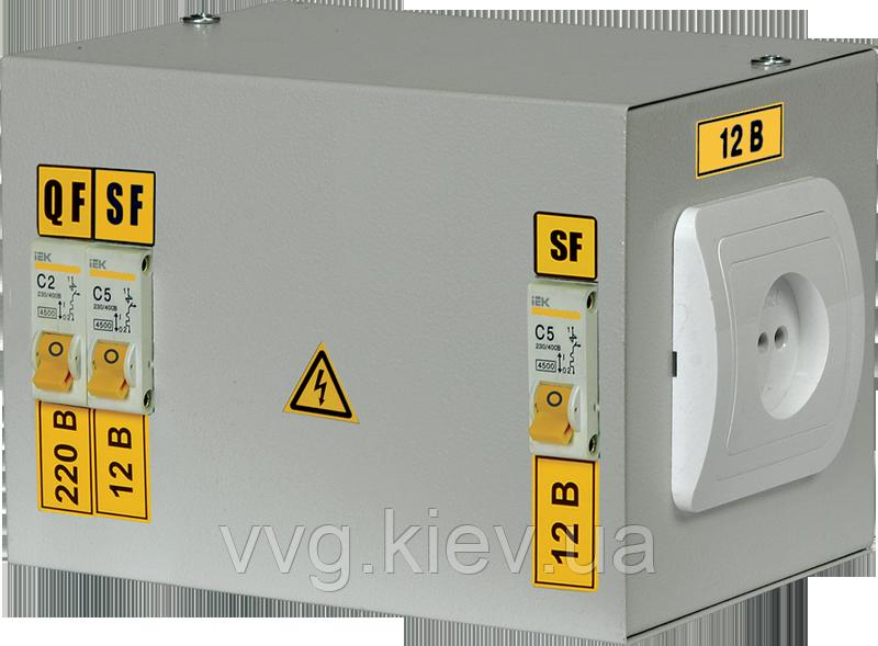 Ящик с понижающим трансформатором ЯТП-0,25 220/12-2 36 УХЛ4 IP30 IEK