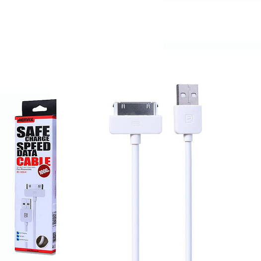 USB кабель Remax Light Cable RC-007 iPhone 4 1m