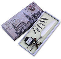 Набор для каллиграфии Ручка Перо белое