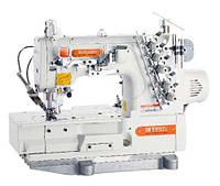 Siruba F007KD-W122-356/FHA/UTJ Плоскошовная швейная машина (распошивалка) со встроенным сервомотором и электрообрезкой верхних и нижних нитей