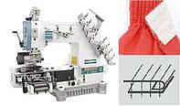 Siruba VС008-04095P Четырехигольная машина цепного стежка с цилиндрической платформой