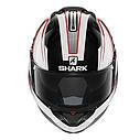 Шлем Shark Evo-one Astor р.XL черно-белый, фото 3