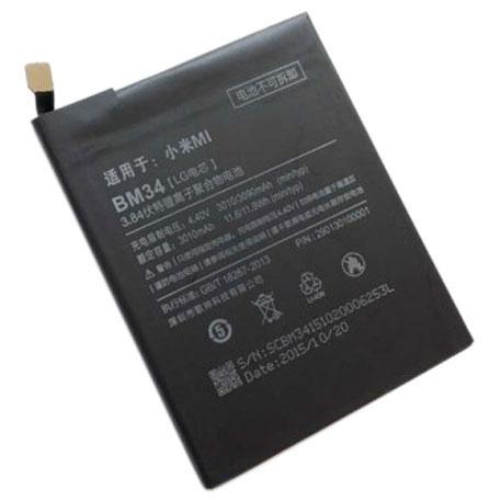 Аккумулятор Xiaomi BM34 (Xiaomi Mi Note Pro), 3090 mAh Оригинал