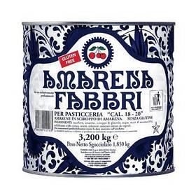 Fabbri Вишня Амарена в сиропі / Amarena 18/20 NAT 3,2 кг