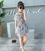 Легке літнє плаття Метелики для дівчаток