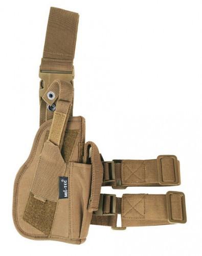 Кобура стегновий для пістолета права MilTec Coyote 16140005