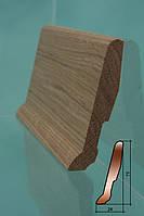 Плинтус деревянный из дуба, сосны. Европлинтус. Отличного качества!