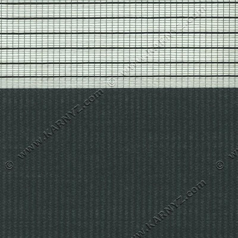 Рулонные шторы День-Ночь Феерия Z-023 серый графитовый