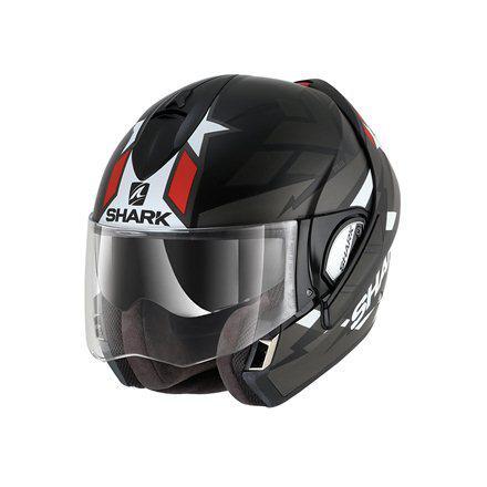 Шлем Shark Evoline 3 Strelka р.XL черно-красный