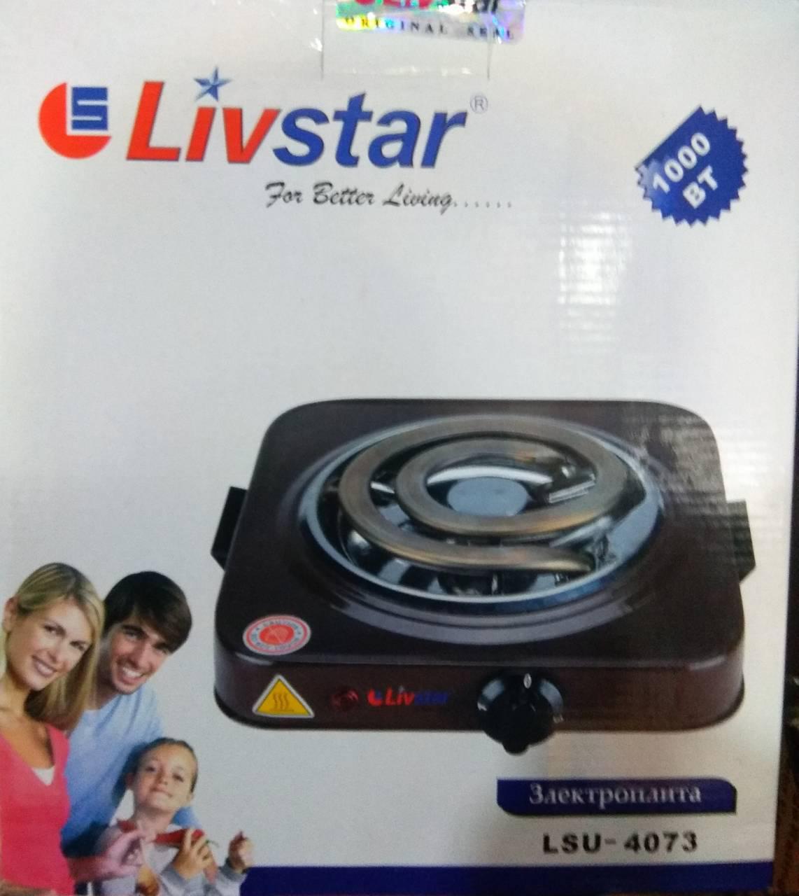 Электро плита с широким теном LIVESTAR LSU-4073