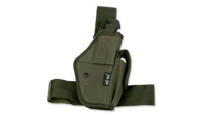 Кобура набедренная для пистолета MilTec Olive 16145001