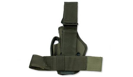 Кобура набедренная для пистолета MilTec Olive 16145001, фото 2