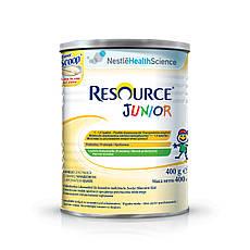 Акція -3% Сухая полноценная сбалансированная смесь Nestle Resource Junior с ароматом ванили 400 г