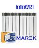 Биметаллический радиатор TITAN MREK 500х96
