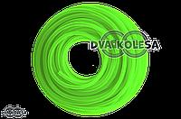 Шланг топливный  4mm, 20 метров, силиконовый  (зеленый)