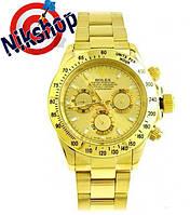 Мужские наручные часы Rolex Daytonа (Золотые)