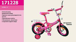 Детский двухколесный велосипед для девочек 171228