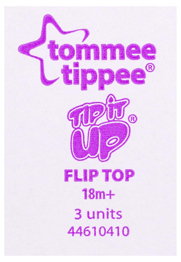 Поилка Tommee Tippee Tip it UP от 18-ти мес.(400ml) голубой, сиреневый
