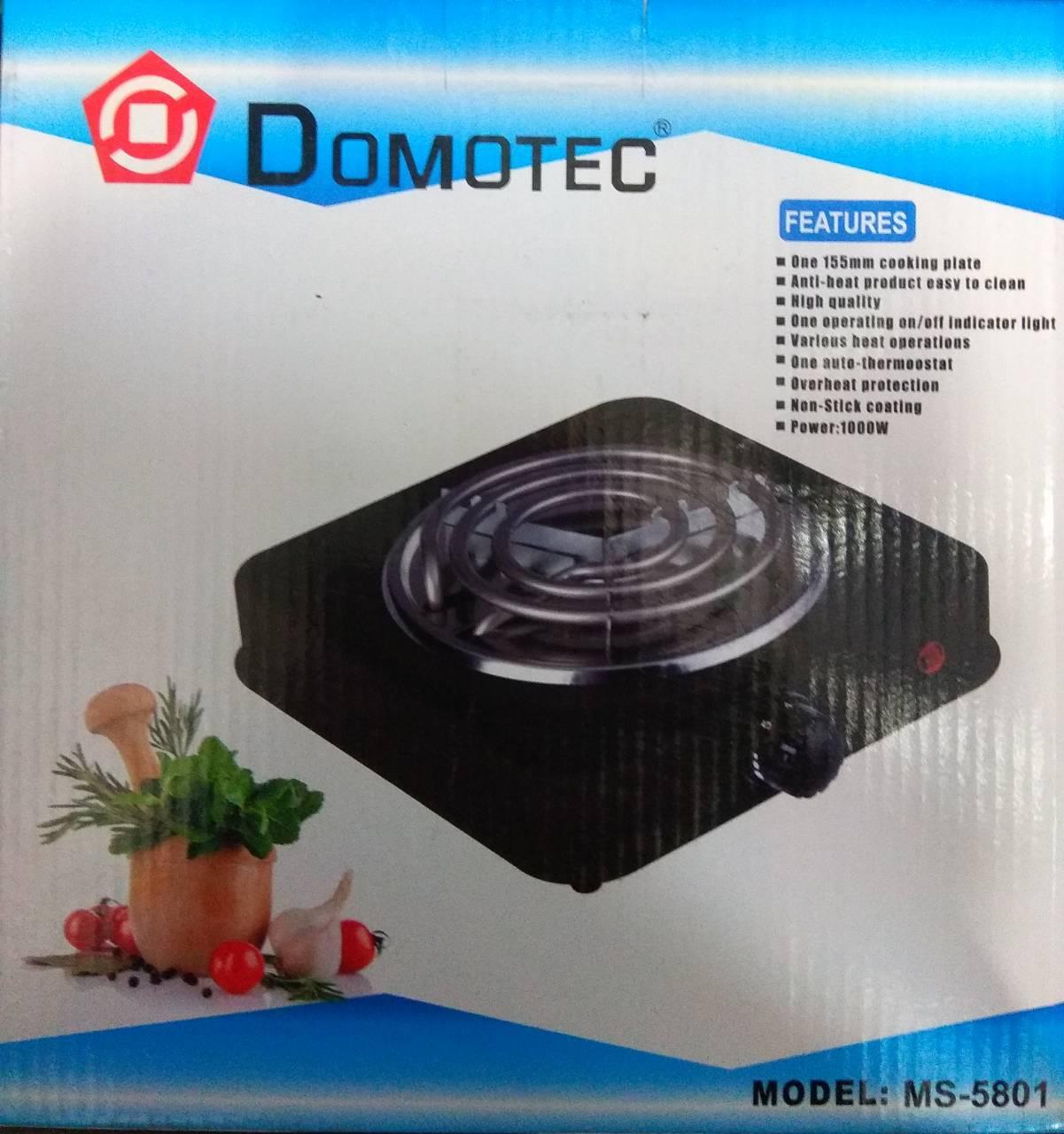 Спиралевая электроплитка Domotec MS-5801