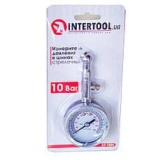 Измеритель давления и протектора в шинах Intertool AT-1004