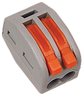 Строительно-монтажная клемма СМК 222-412 (4 шт. в упаковке) IEK