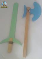 Набор топор и меч